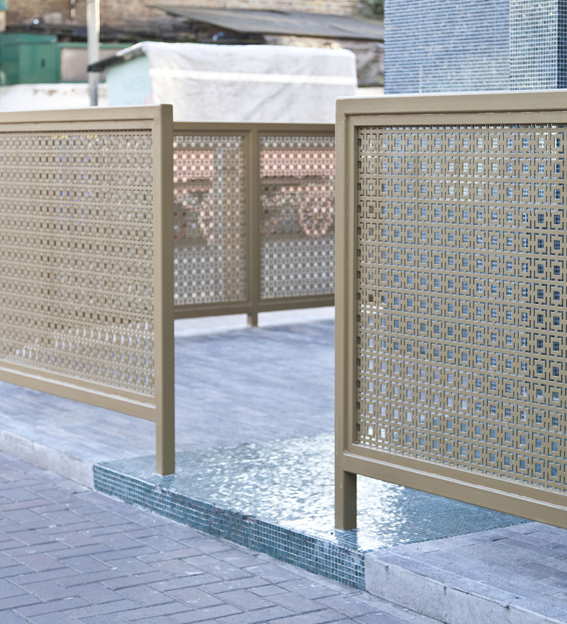 Commercial Decorative Fence