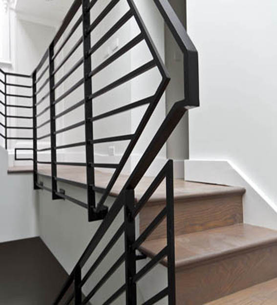 Metal Geometric Balustrade