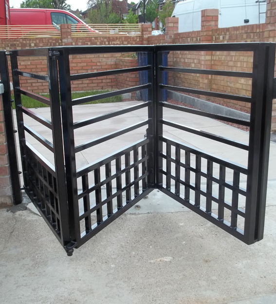 Lightweight Folding Gates