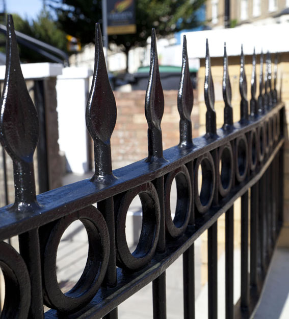 metal Traditional Metal Gate Railings