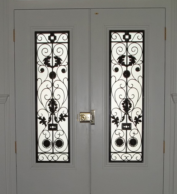 metal door grilles