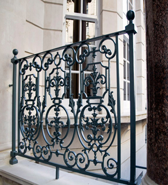metal victorian railing restoration